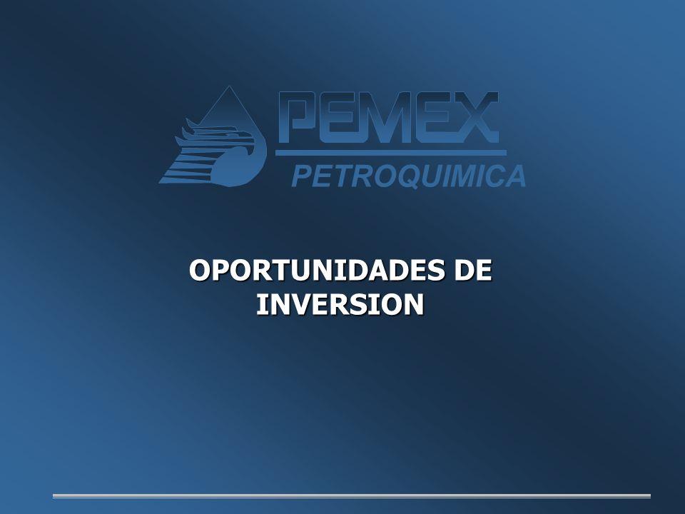 PETROQUIMICA OPORTUNIDADES DE INVERSION Buenos días