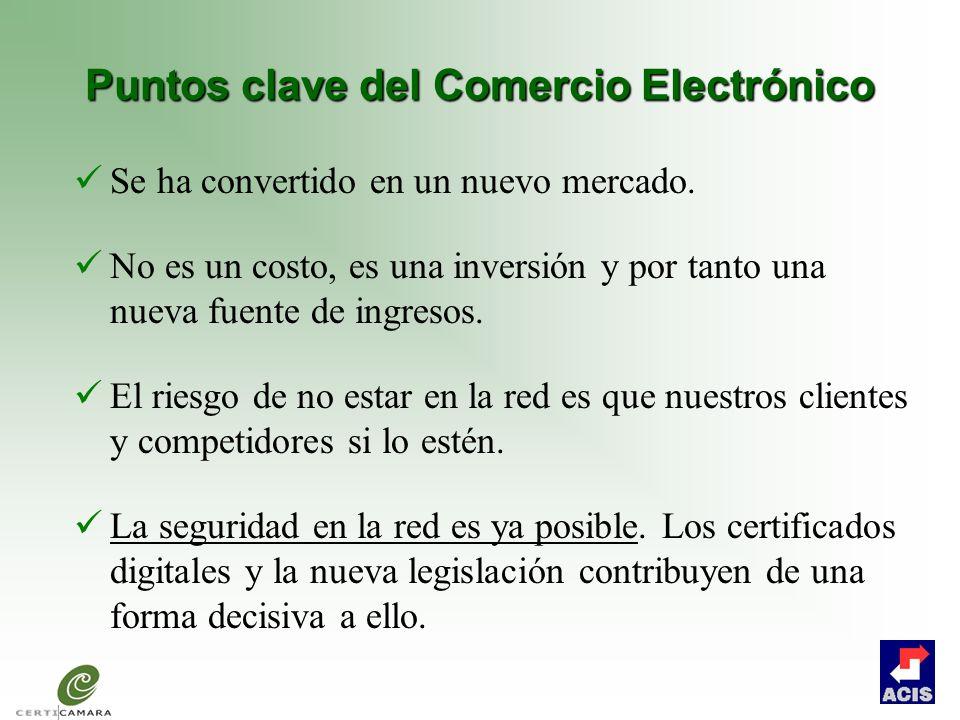 Puntos clave del Comercio Electrónico