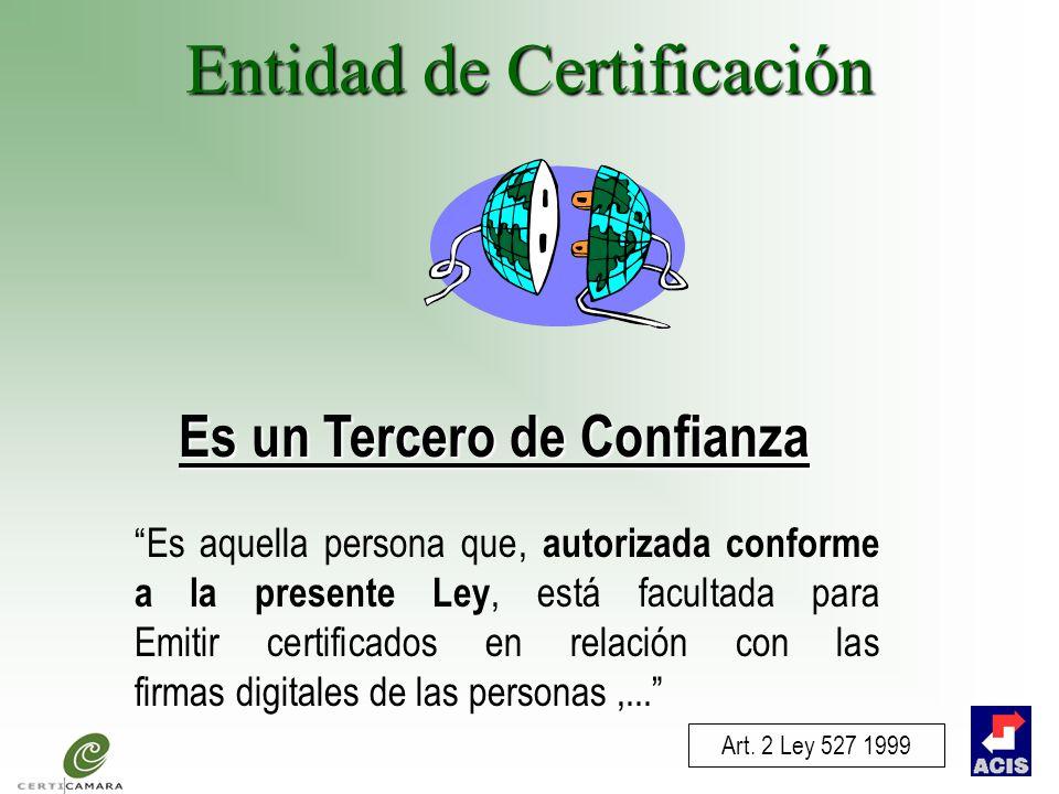 Entidad de Certificación