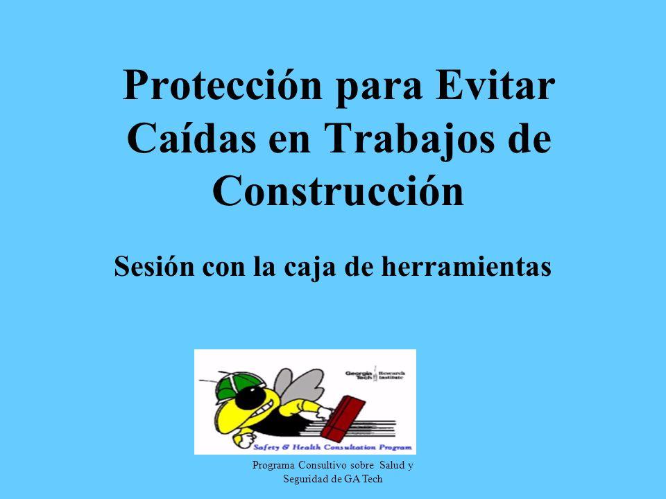 Protección para Evitar Caídas en Trabajos de Construcción