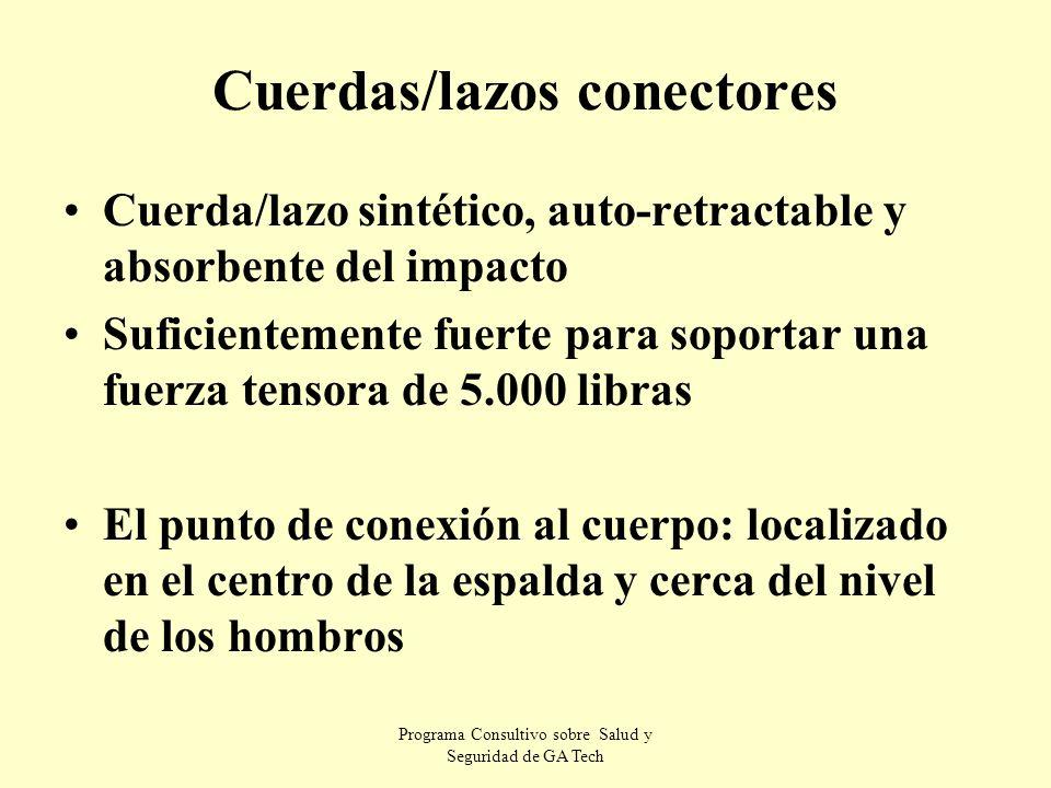 Cuerdas/lazos conectores