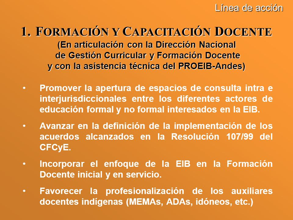 FORMACIÓN Y CAPACITACIÓN DOCENTE