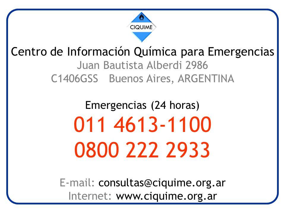 Centro de Información Química para Emergencias