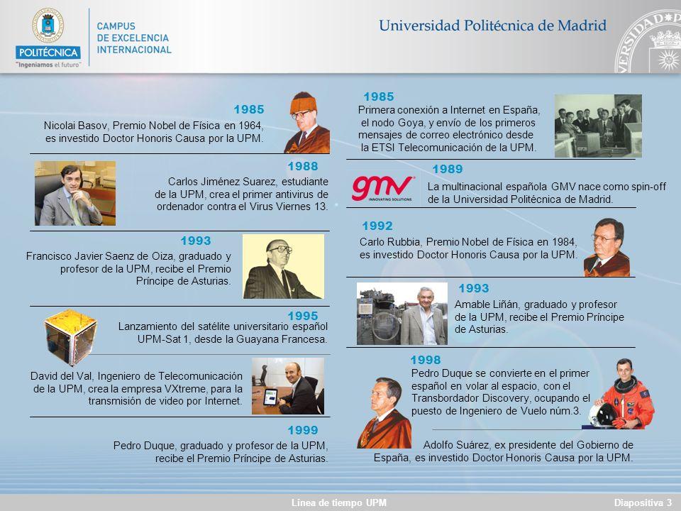 1985 1985. Primera conexión a Internet en España, el nodo Goya, y envío de los primeros. mensajes de correo electrónico desde.