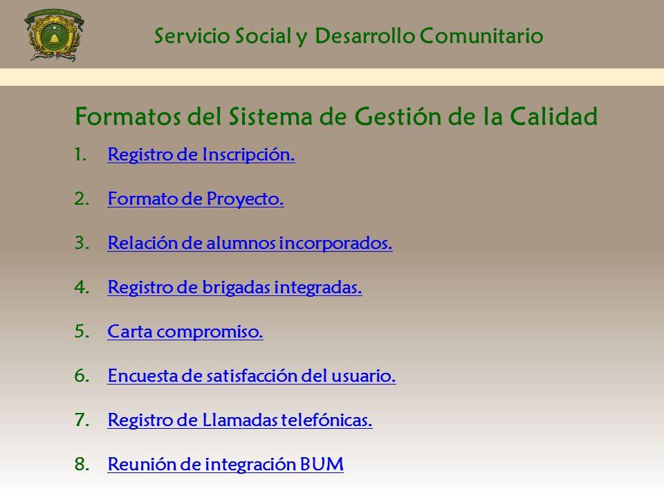 Inducci n al servicio social ppt descargar for Proyecto social comedor comunitario