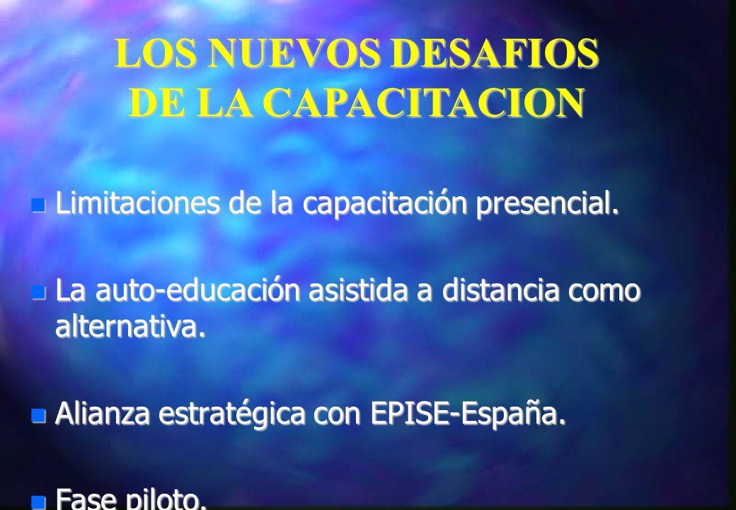 LOS NUEVOS DESAFIOS DE LA CAPACITACION