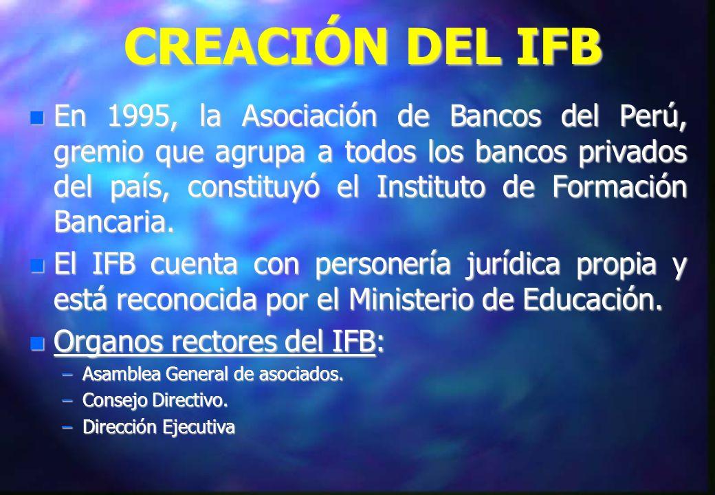 CREACIÓN DEL IFB