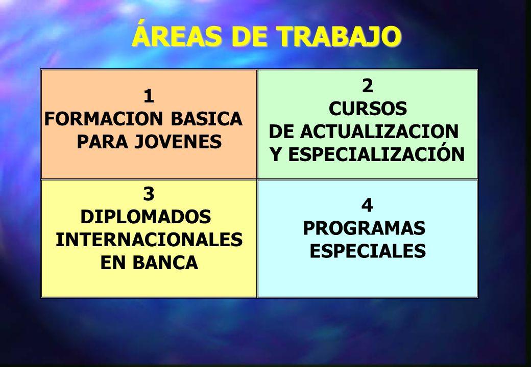 ÁREAS DE TRABAJO 2 1 CURSOS FORMACION BASICA DE ACTUALIZACION