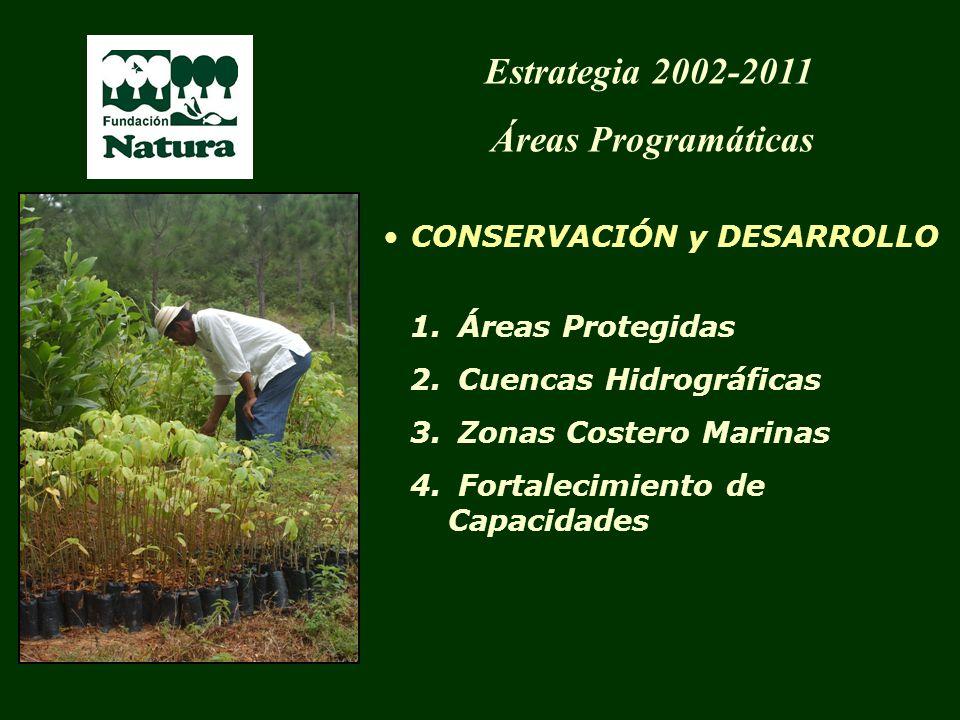 Estrategia 2002-2011 Áreas Programáticas CONSERVACIÓN y DESARROLLO