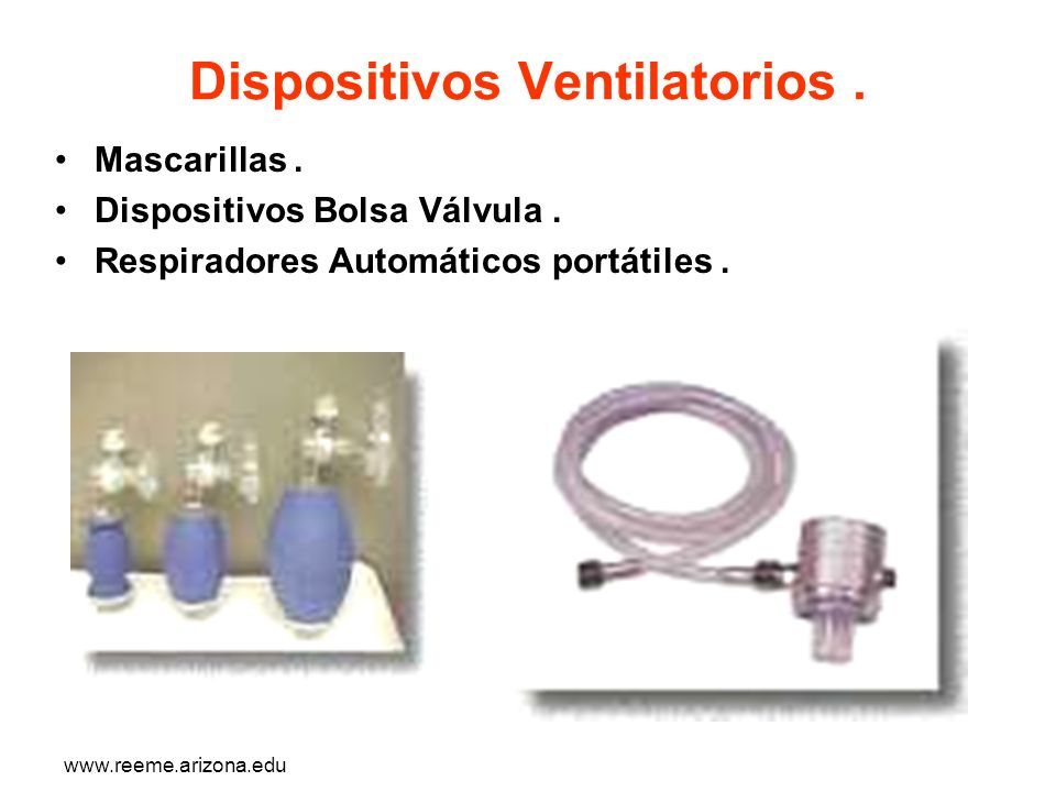 Dispositivos Ventilatorios .
