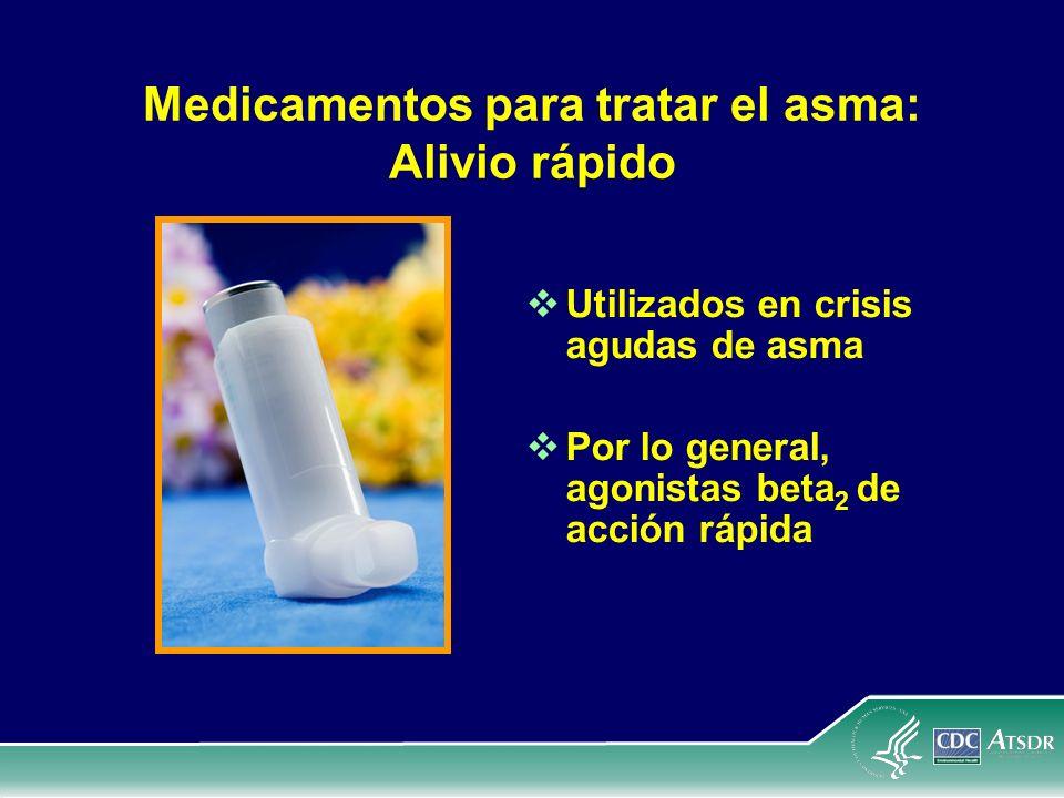 Medicamentos para tratar el asma: Alivio rápido