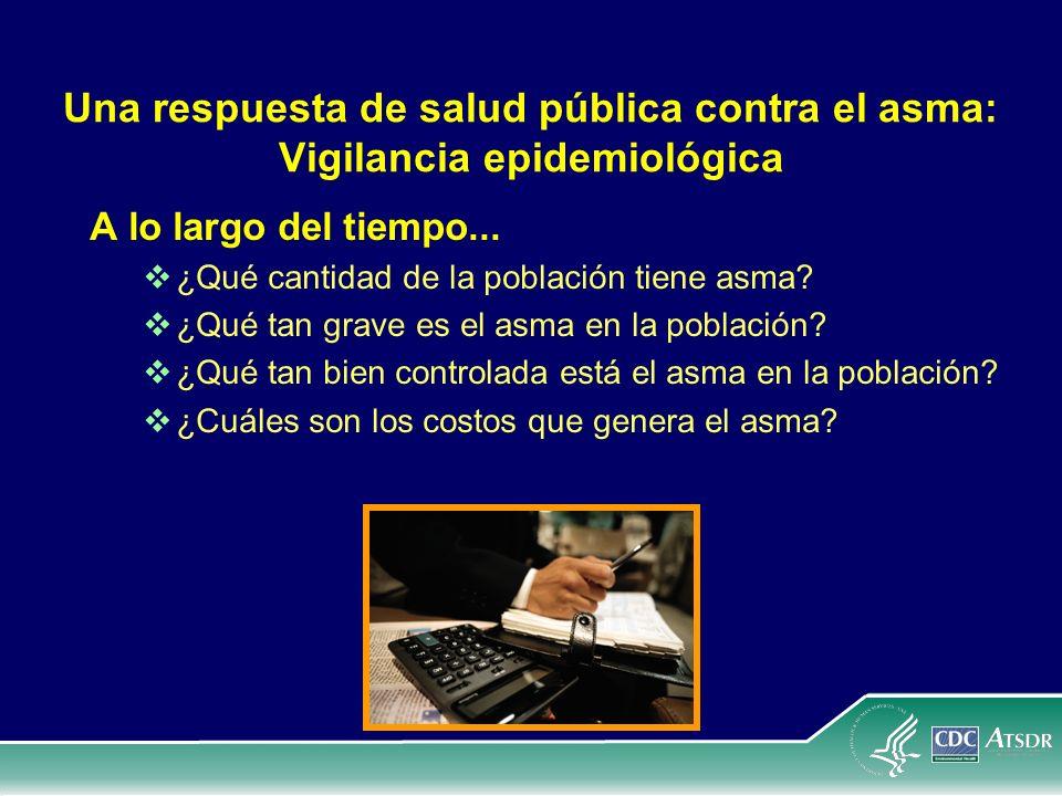 Una respuesta de salud pública contra el asma: Vigilancia epidemiológica