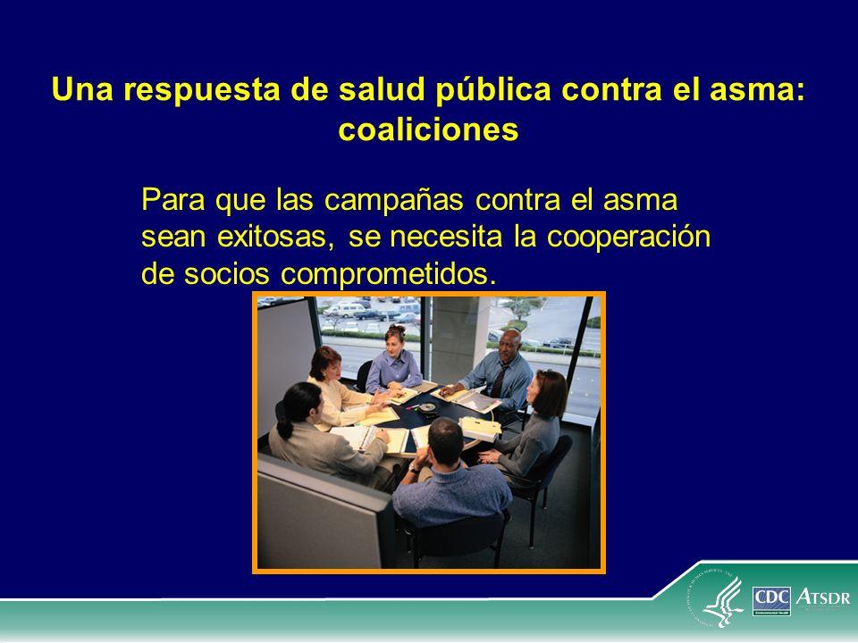 Una respuesta de salud pública contra el asma: coaliciones
