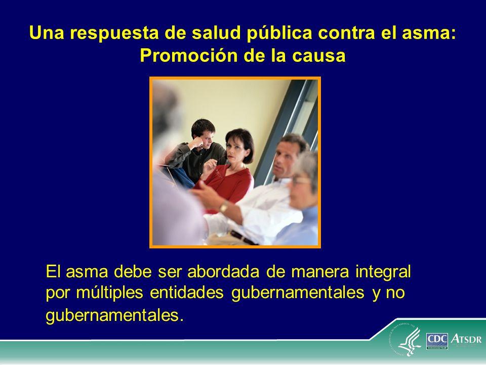 Una respuesta de salud pública contra el asma: Promoción de la causa
