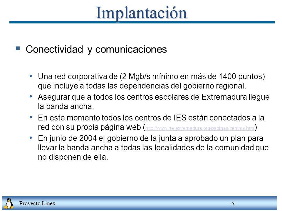 Implantación Conectividad y comunicaciones