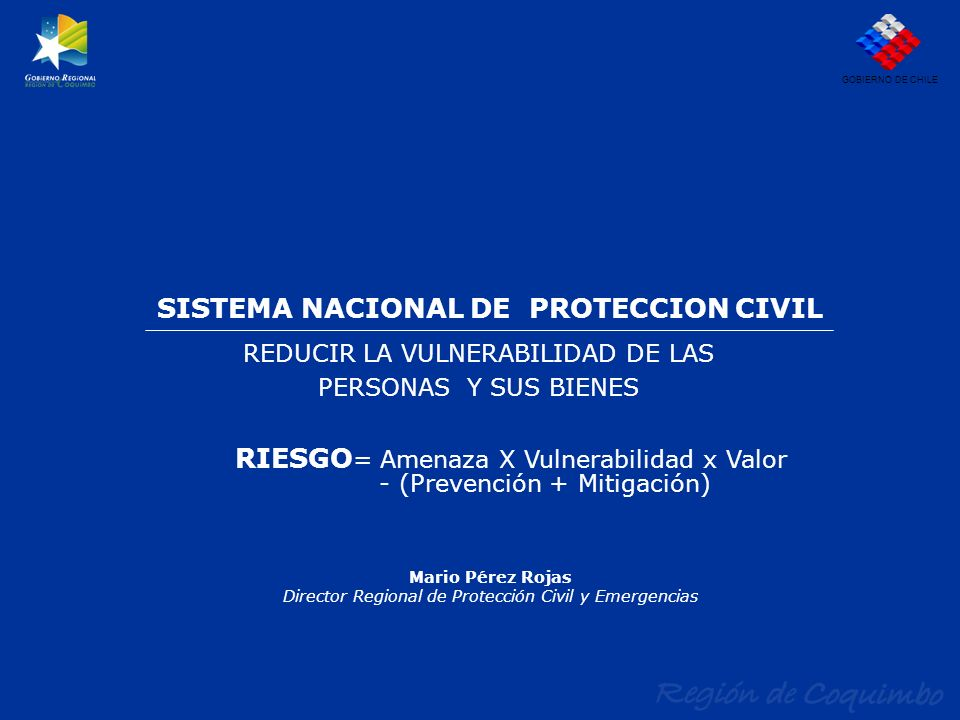 SISTEMA NACIONAL DE PROTECCION CIVIL
