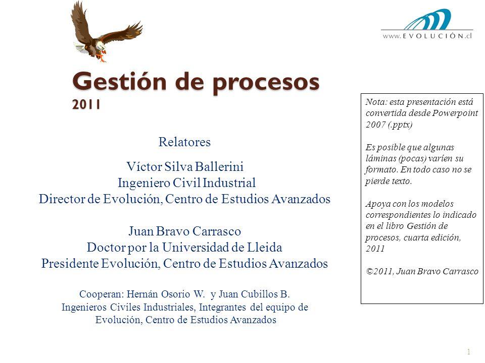 Gestión de procesos 2011 Relatores Víctor Silva Ballerini