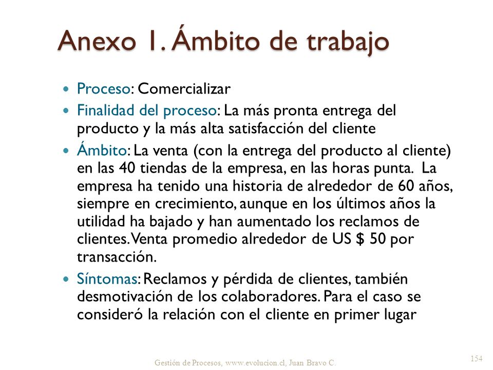 Anexo 1. Ámbito de trabajo