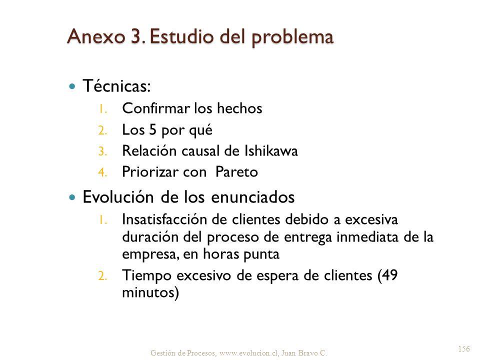 Anexo 3. Estudio del problema