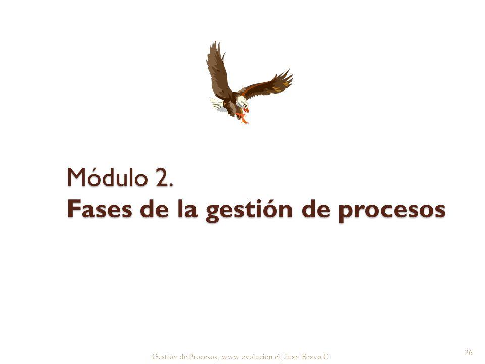 Módulo 2. Fases de la gestión de procesos