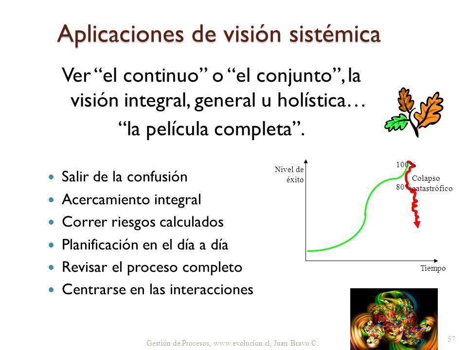 Aplicaciones de visión sistémica