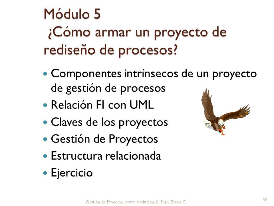 Módulo 5 ¿Cómo armar un proyecto de rediseño de procesos