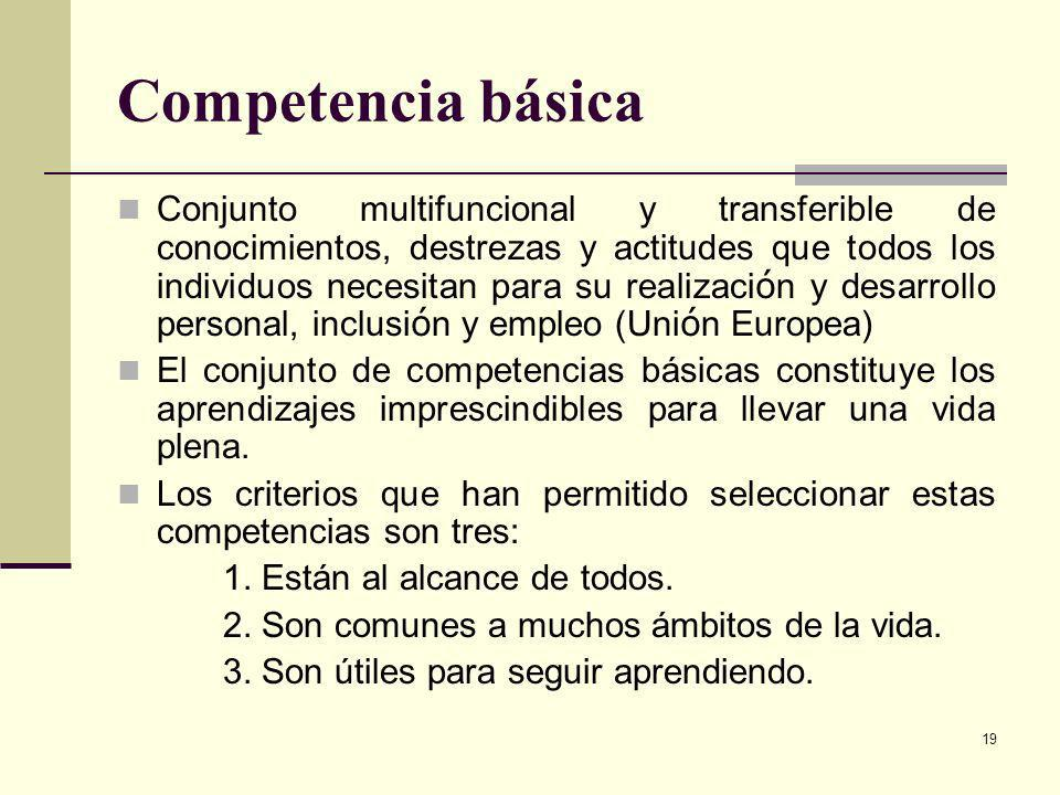 Competencia básica