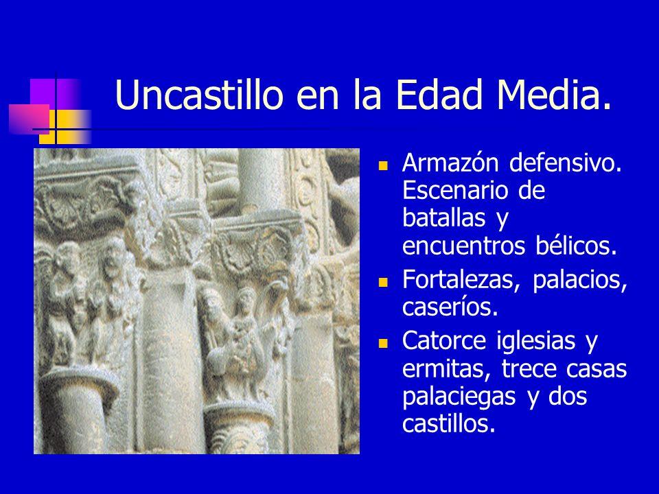 Uncastillo en la Edad Media.