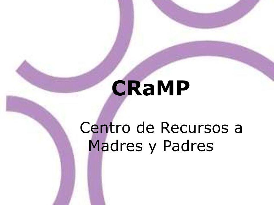 CRaMP Centro de Recursos a Madres y Padres