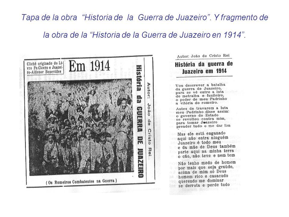 Tapa de la obra Historia de la Guerra de Juazeiro