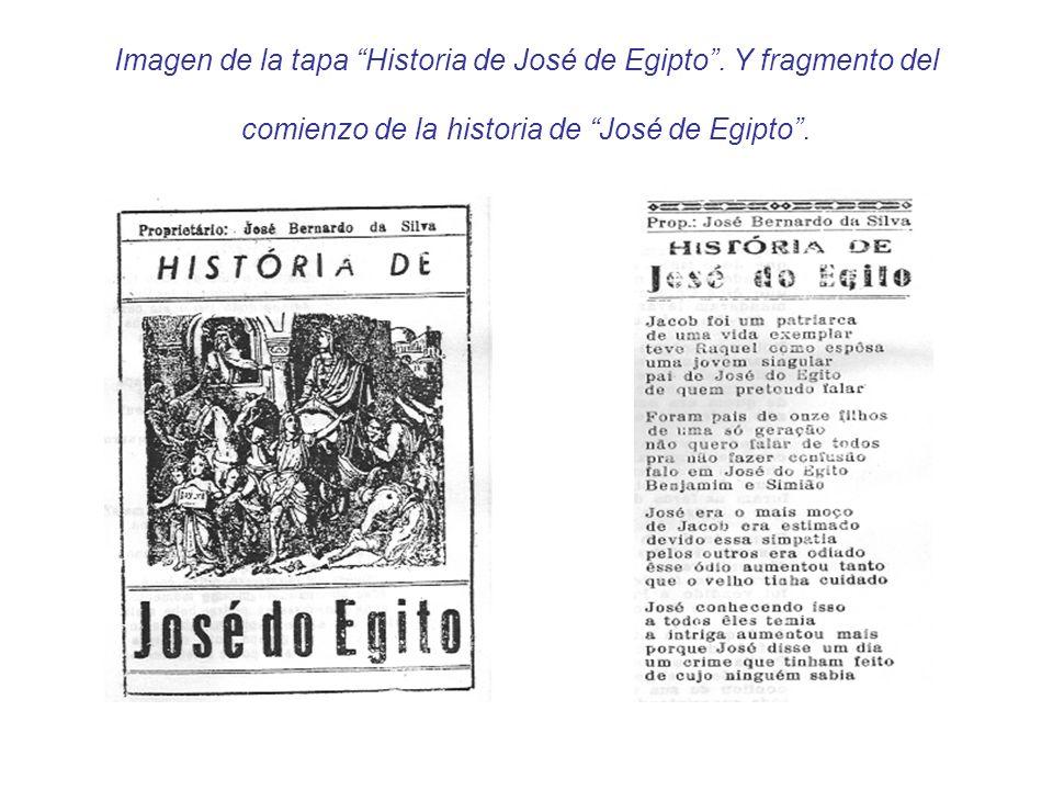 Imagen de la tapa Historia de José de Egipto