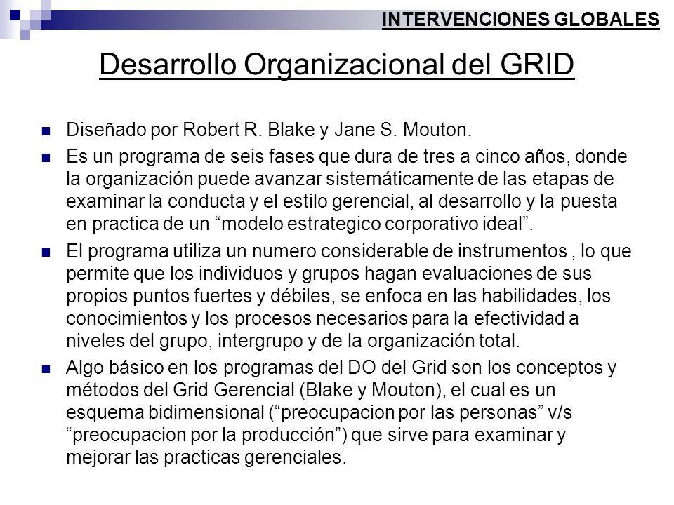 Desarrollo Organizacional del GRID