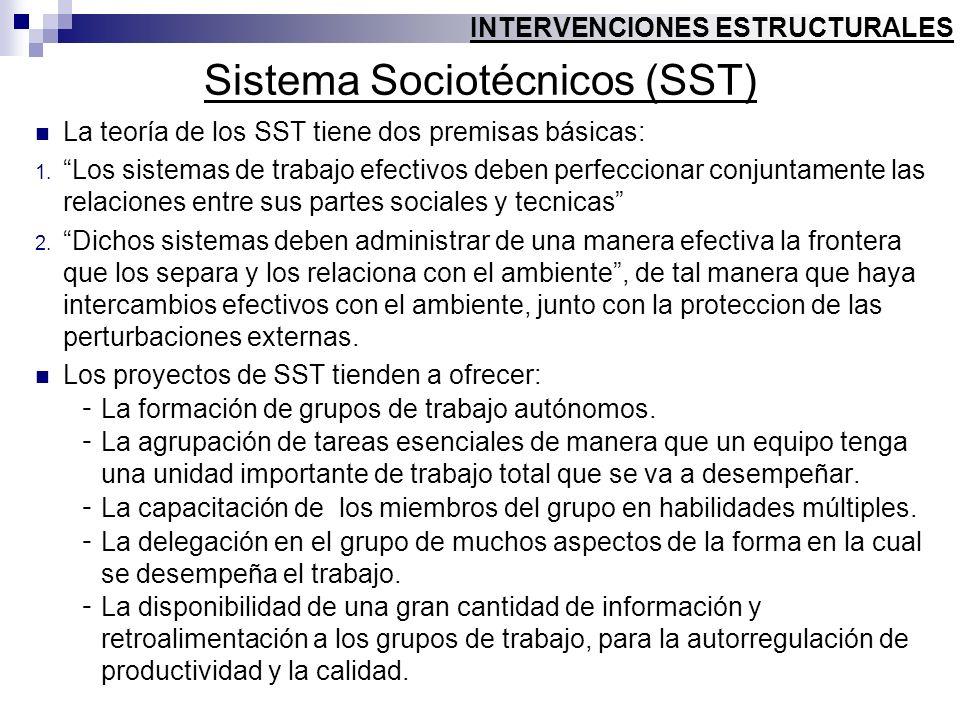Sistema Sociotécnicos (SST)