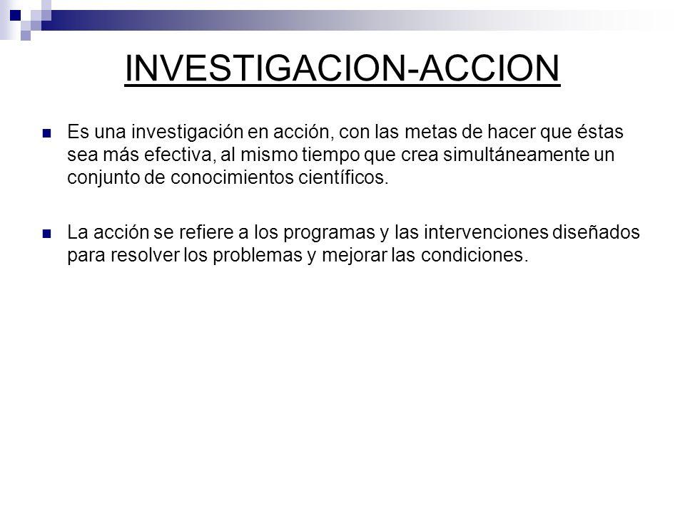 INVESTIGACION-ACCION