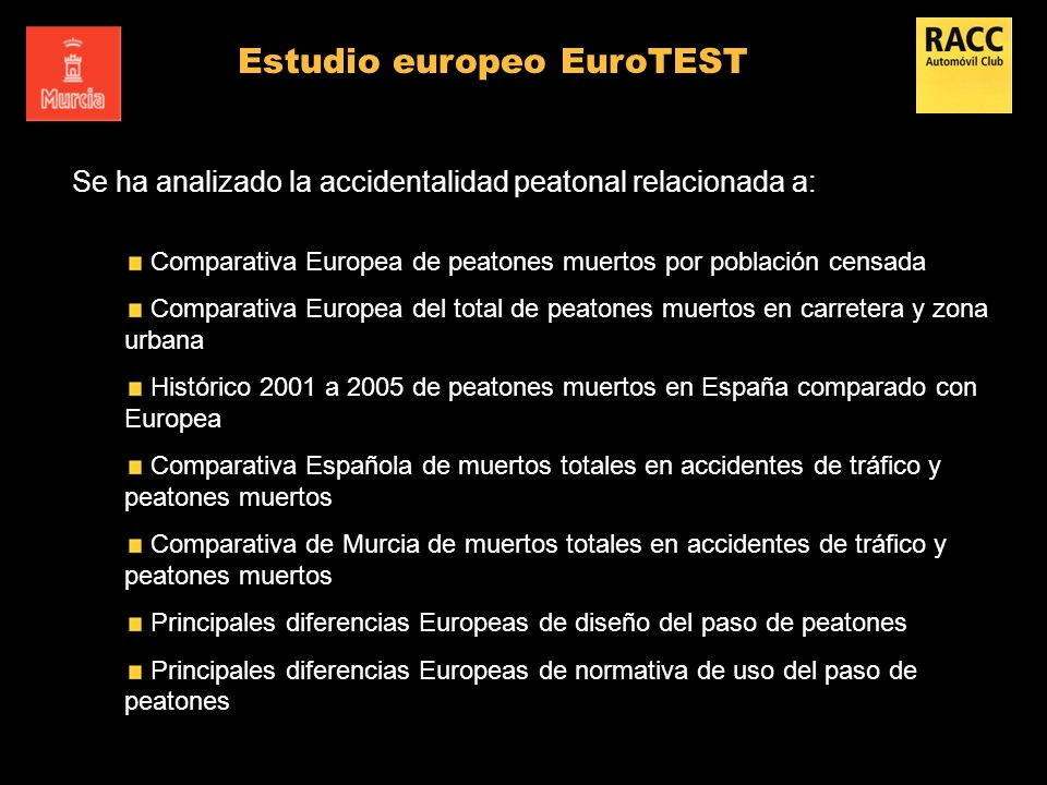 Estudio europeo EuroTEST