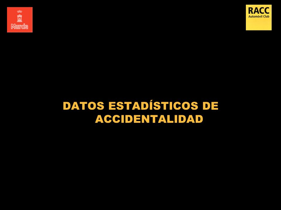 DATOS ESTADÍSTICOS DE ACCIDENTALIDAD