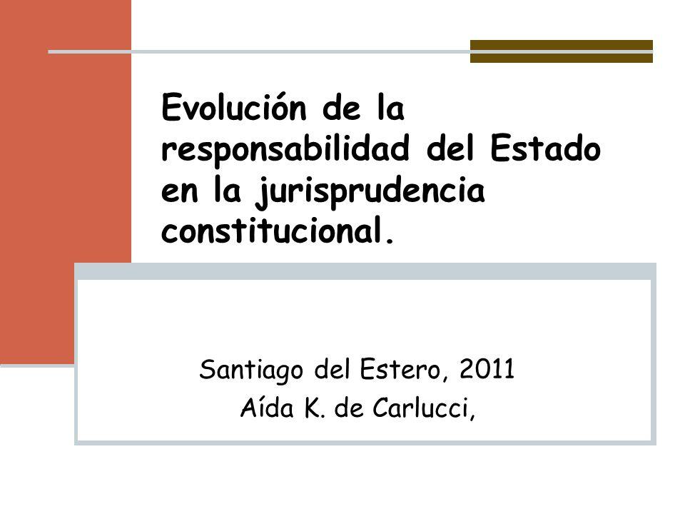 Santiago del Estero, 2011 Aída K. de Carlucci,
