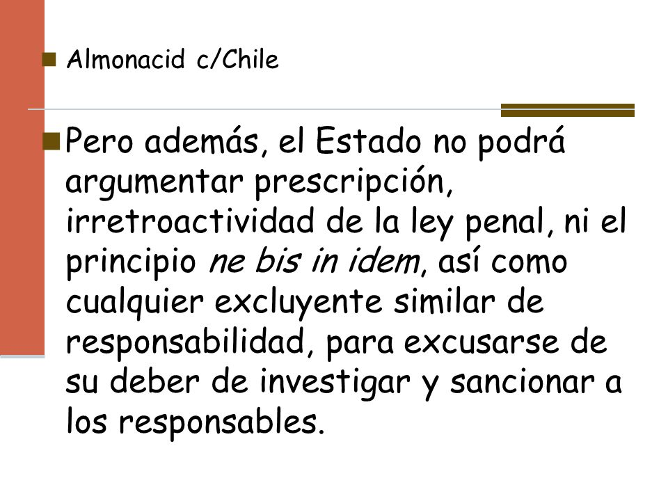 Almonacid c/Chile