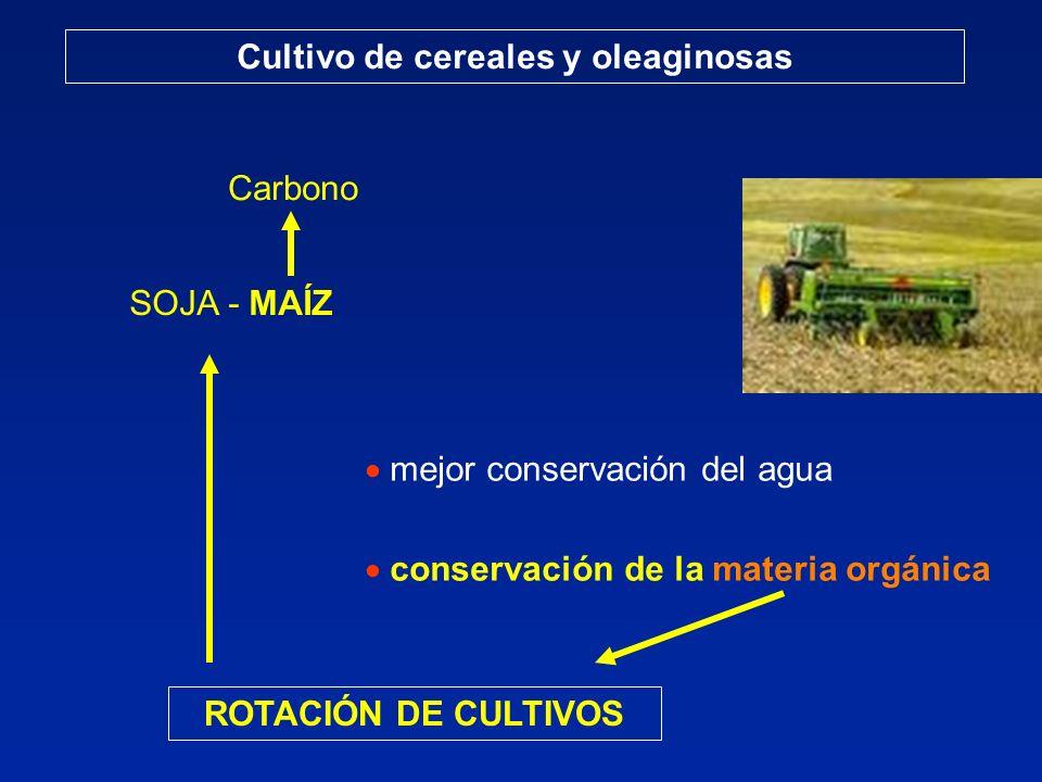 Cultivo de cereales y oleaginosas
