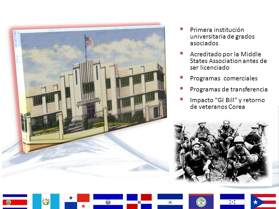 Primera institución universitaria de grados asociados