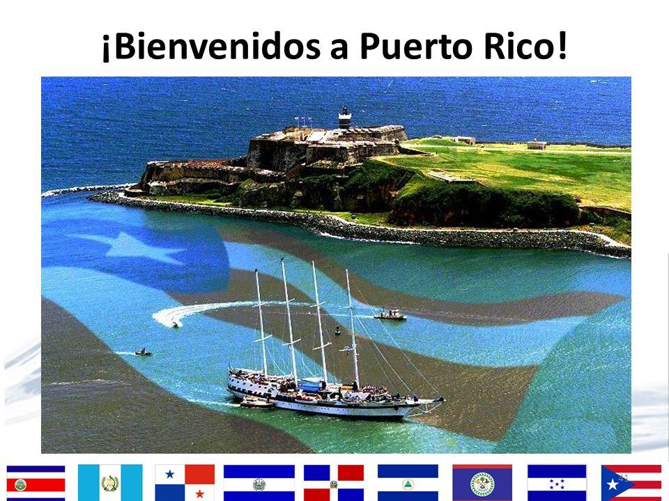¡Bienvenidos a Puerto Rico!