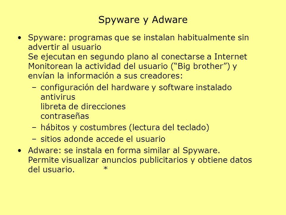 Spyware y Adware