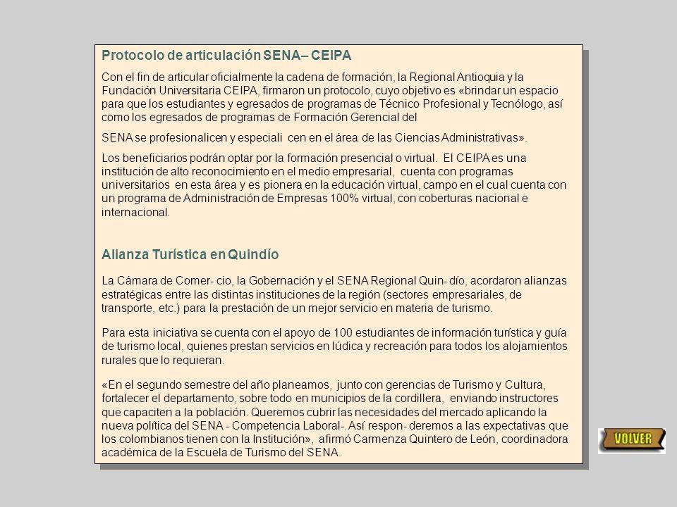 Protocolo de articulación SENA– CEIPA