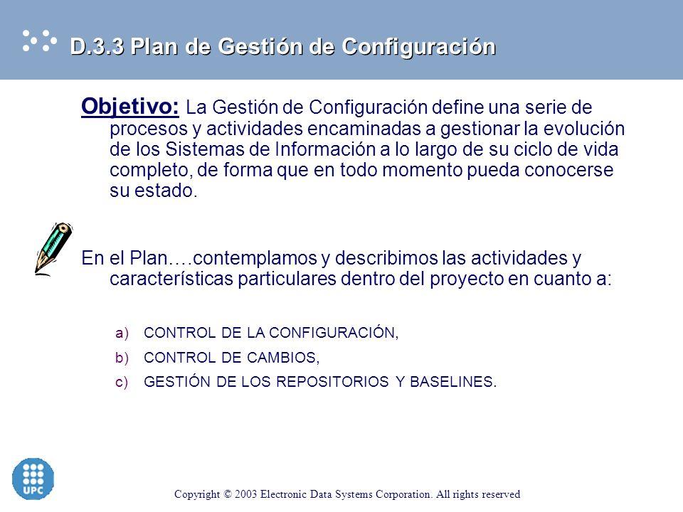 D.3.3 Plan de Gestión de Configuración