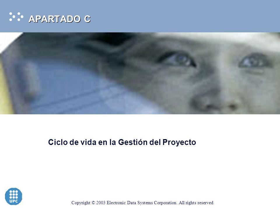 APARTADO C Ciclo de vida en la Gestión del Proyecto