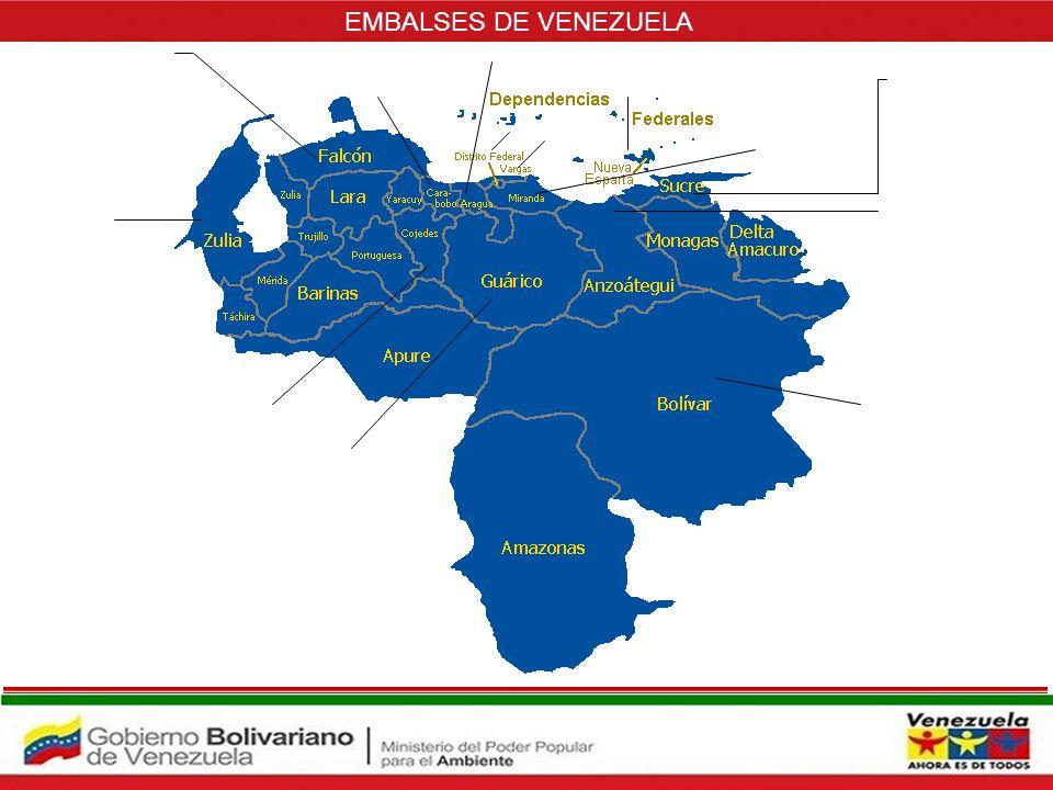 EMBALSES DE VENEZUELA