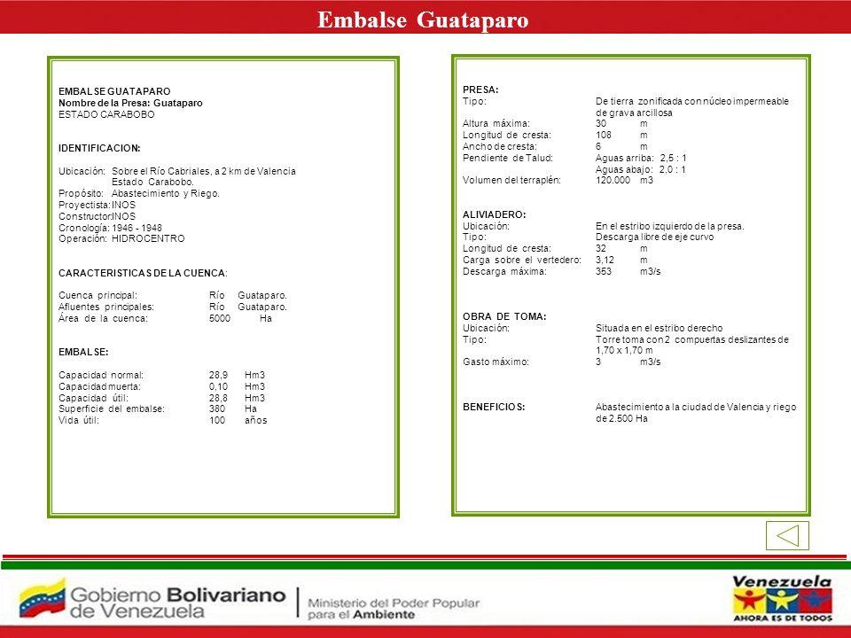 Embalse Guataparo E EMBALSE GUATAPARO PRESA: