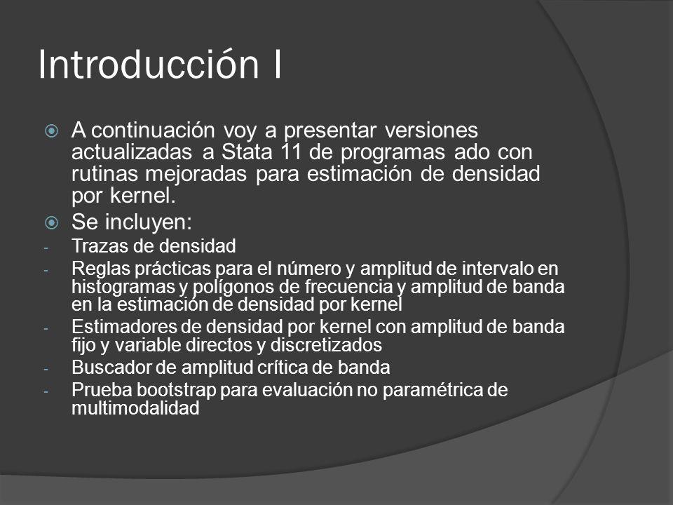Introducción I