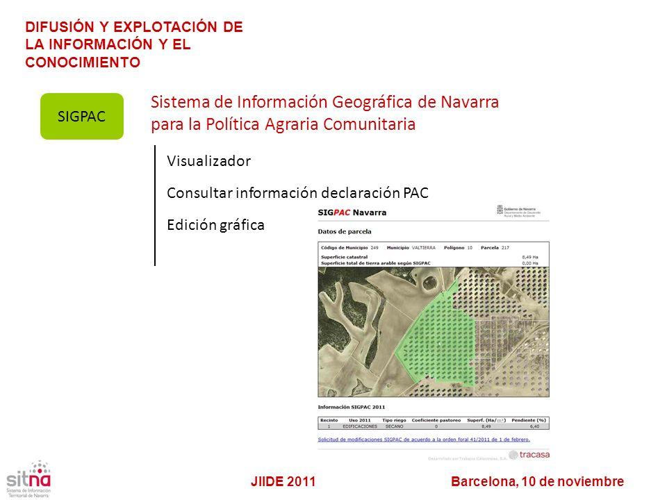 Sistema de Información Geográfica de Navarra