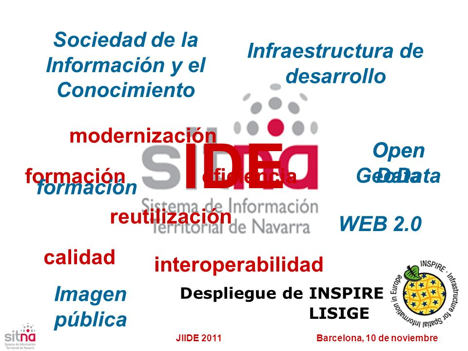 IDE Sociedad de la Información y el Conocimiento
